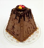 Пасха творожная с шоколадным трюфелем